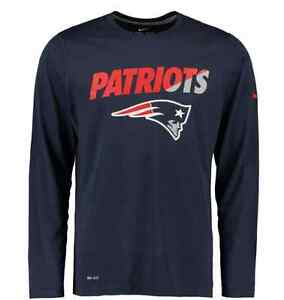 New England Patriots Nike Legend Staff Practice Long Sleeve Shirt Seacliff Park Marion Area Preview