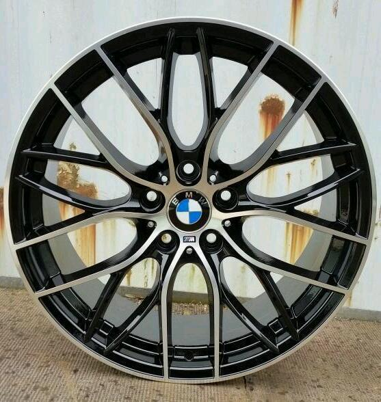 "BRAND NEW 20"" BMW M PERFORMANCE ALLOY WHEELS X4 BOXED"