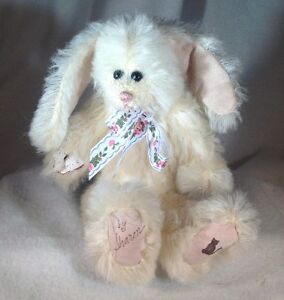 Handcrafted-OOAK-white-Artist-Bunny-by-Sharon-Learned