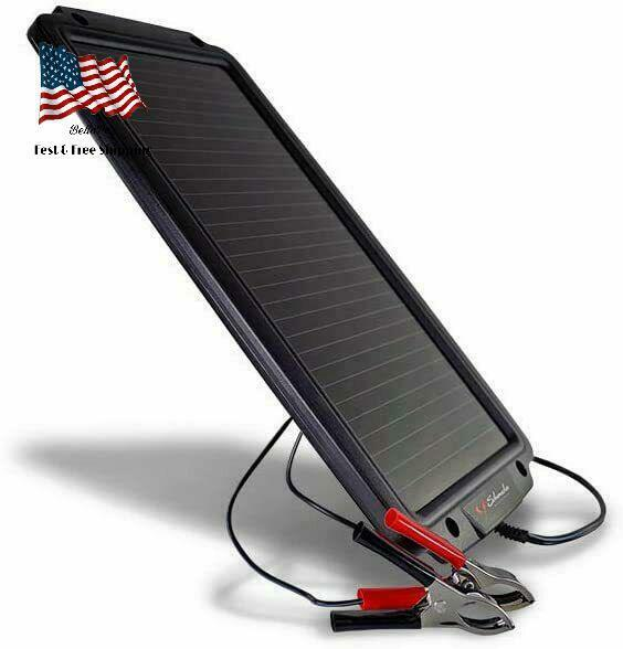 Solar Battery Charger & Maintainer Car Trickle Charge Schuma