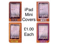 BNIP ~ IPAD MINI CASE/COVER ~ DIFFERENT COLOURS AVAILABLE