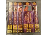 Wrestlemania 1 - 8, 10 & 12 On VHS (WWE/WWF)