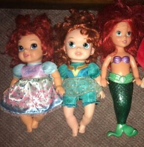 Ariel Little Mermaid Disney Doll Lot $15 for all 3, or $7 each