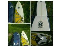 Advanced 6ft 10 surfboard