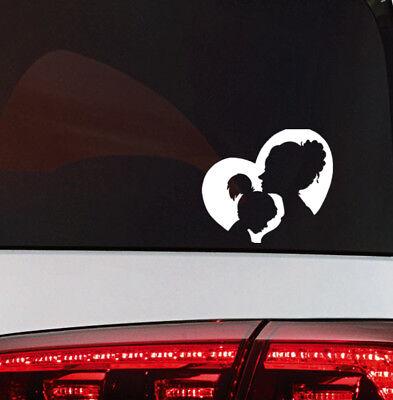 Baby on Board Aufkleber Mutter Kind Sticker Mutter und Tochter Liebe Herz love (Mütter Board)