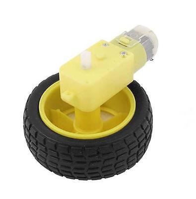 Dc 3v-6v 1120 Gear Motor W Wheel Hobby Tt Homotaxial For Robot Car Diy