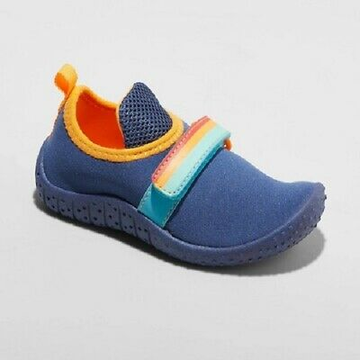 1/2 OFF SHOE SHOP-Toddler Boys Francis Water Shoes - Cat & Jack™ Blue Size -