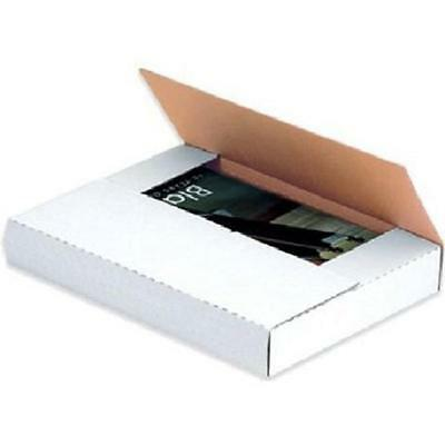 9 58 X 6 58 X 2 12 White Multi-depth Book Fold Mailers Bundle Of 50