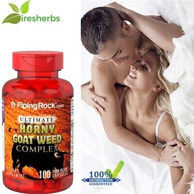 #1 BEST ULTIMATE HORNY GOAT WEED COMPLEX MALE ENHANCEMENT SUPPLEMENT 100