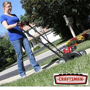 USED* CRAFTSMAN 29cc WHEELED EDGER - 118852811 - 4 CYCLE GAS POWERED GASOLINE LANDSCAPING GARDENING GARDENS BORDER DI...