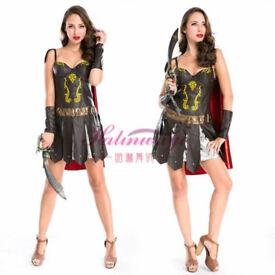 NEW Woman's Roman Centurian Gladiator Costume