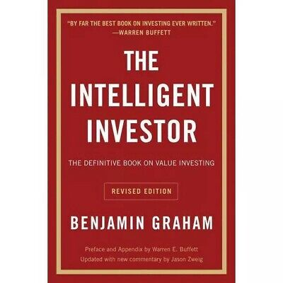 The Intelligent Investor - Definitive Book on Value Investing by Benjamin Graham