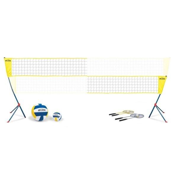 Outdoors Profesional Volleyball Net BUNDLE ✅ COMES W/ VOLLEYBALLs AND RACKETS ✅
