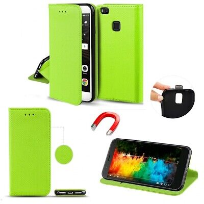 Flip Tasche Hülle Etui Book Case Buch SMART Magnet Grün Samsung Galaxy A2 Core  (Etui Samsung Galaxy Core 2)