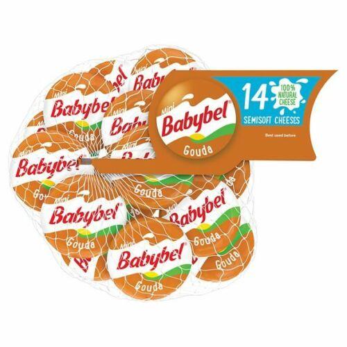 Mini Babybel Gouda Semisoft Cheeses - 14ct