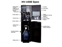 HV 100 beans to cup freshly ground coffee commercial use