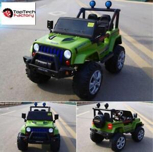 JEEP | KIDS RIDE ON CAR | BRAND NEW | FREE SHIPPING | CALL 1-800-821-0552 OR VISIT TOPTECHFACTORY.COM