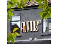 Bar Manager / Head Bartender - Aurous Bar and Restaurant