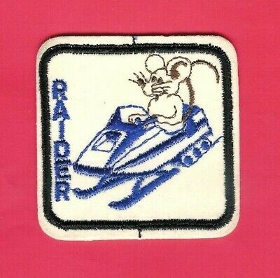 Vintage Patch NOS  Speedy Gonzales Rides Rupp Snowmobile snow ski winter sew on