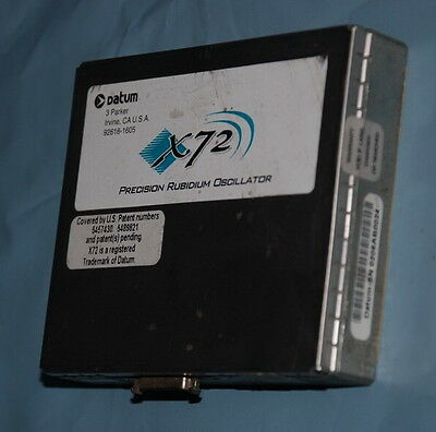 X72 Rubidium Oscillator 60m10m1pps