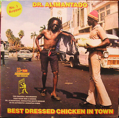 Dr. Alimantado - Best Dressed Chicken In Town LP - REGGAE Vinyl Album UK (Best New Reggae Albums)