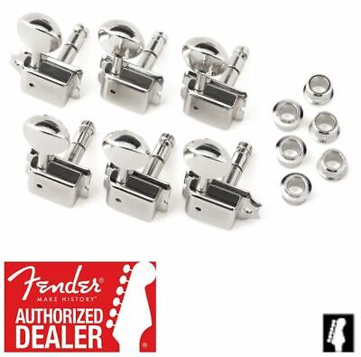 Fender Gotoh SD91 Vintage-Style Locking Guitar Tuners Nickel 007-2272-049