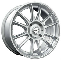 Roues (Mags)  Hiver  DAI Radial argent 15 pouces