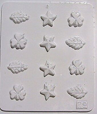 Aldax Chocolate Mould/Mold 1029 - Star and Leaf design Star Chocolate Mold
