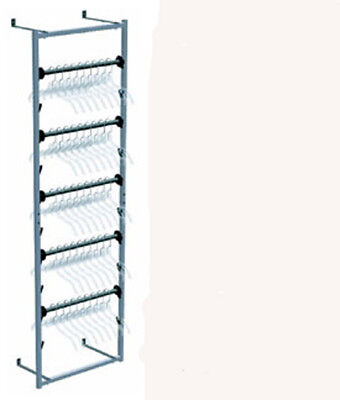 Retail Sort N Store Clothes Wall 55 Hanger Storage Organizer Rack New In Box