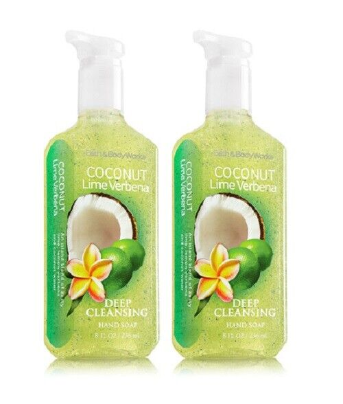 Bath & Body Works Deep Cleansing Hand Soap Coconut Lime