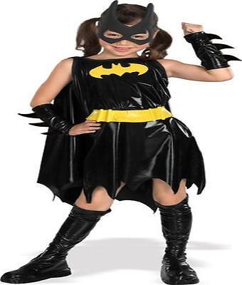 Comic Kostüm Mädchen (Mädchen Dc Comics Batgirl 6 Pc Kostüm GRÖSSE L RU882313)