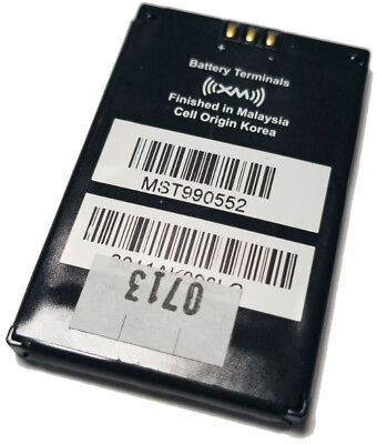 OEM XM XMP3 & XMP3i Replacement Battery (New)