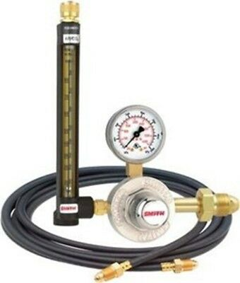 Smith Flowmeter Regulator W Hose Cga580 Argonco2 32-30-580-6