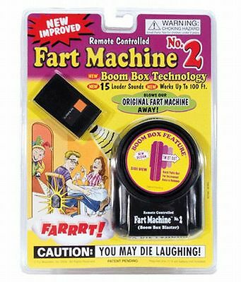 Fart Machine # 2 - NEW VERSION with remote + 1 Million Bill Bonus