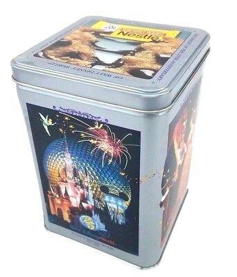 Walt Disney World 25th Anniversary Nestle Toll House Tin Vintage '96 Collectible