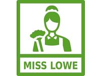Miss Lowe - Childminding / Housekeeping / Carer / (Live In)