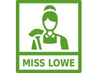 Childminder / Carer / Nanny / Home Help / Miss Lowe (Live in or One Off jobs)