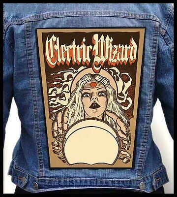 ELECTRIC WIZARD - Witch --- Giant Backpatch Back Patch / Sleep Bongzilla Cough