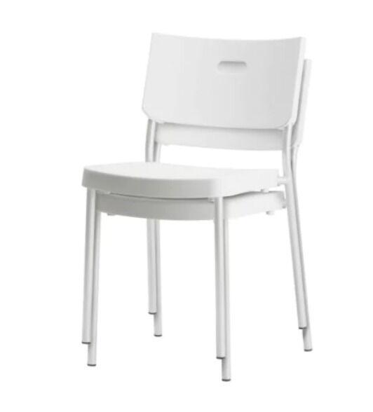 IKEA HERMAN Chair (x2 Quantity) With Free Seat Cushions (IKEA)