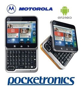 Motorola Flipout MB511 3G Android QWERTY keyboard Flip/swivel mobile phone NEW