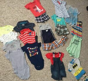 Baby boy clothing 3 m and 6 m - all brand names