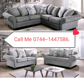 New Corner Or 3+2 Sofa Sale available fast delivery ☺️