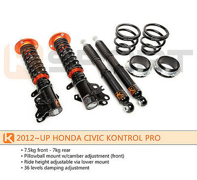 KSport Kontrol Pro Coilovers Dampers 2012 2013 ALL CIVIC  2014 Up CIVIC Non Si