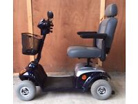 Kymco Midi XL 8mph full suspension medium size pavement mobility scooter
