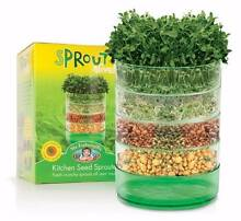 NEW SPROUTERS & 3 TYPES OF SUPERFOOD SPROUT MIXES Sunshine Coast Region Preview