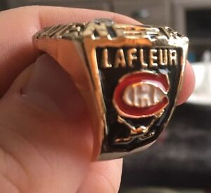 1976 Montreal Canadiens Guy Lafleur Stanley Cup Replica Ring