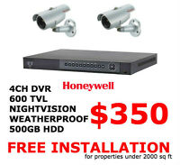 CCTV SECURITY CAMERA SURVEILLANCE FREE INSTALLATION