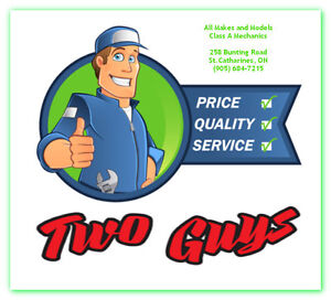 Two Guys Service Garage -  Brakes Oil Change Electrical Battery