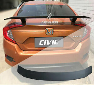 2016-2018 Honda Civic Sedan Si Coupe Style Trunk Spoiler Unpaint