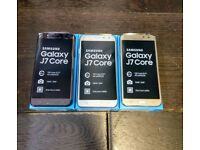 SAMSUNG J7 CORE 16GB - UNLOCKED TO ALL NETWORKS - BRAND NEW